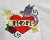 Mom Tattoo T Shirt