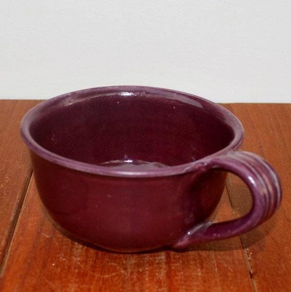 Ceramic Soup Mug with Handle