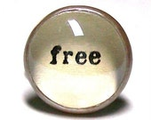 FREE Handcrafted Glass Art Ring Inspirational
