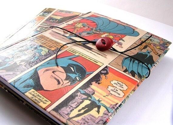 Superhero sketchbook