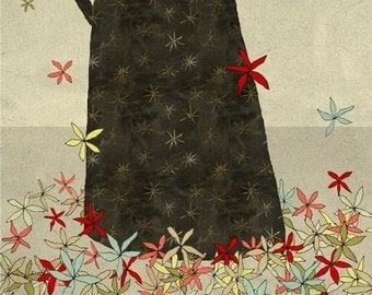 la foret 2 - Art - Illustration -  Children Wall Decor - Nursery Art Print - Poster for Kids Room - Forest - Trees