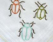 Wipe those bugs off your nose - handkerchief