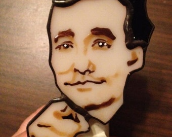 Bill Murray Stained Glass Night Light by Glass Action