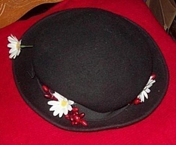 Mary Poppins Halloween Costume Hat Mary Poppins Hat