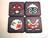 Mario Enemy Coasters (Purple)