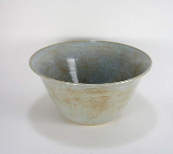 Dreamy Blue Fluted Stoneware Bowl, 16 Ounces, 50% Off Sale