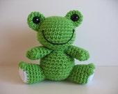 Amigurumi Frog PDF Pattern
