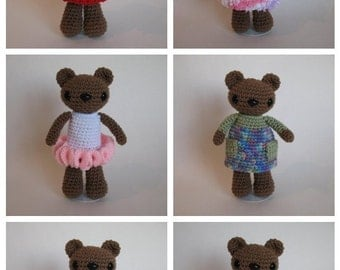Dress-up Bear PDF Pattern