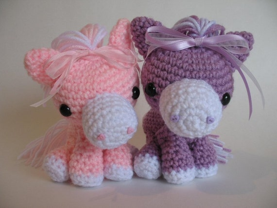 Cotton Candy Horse PDF Pattern