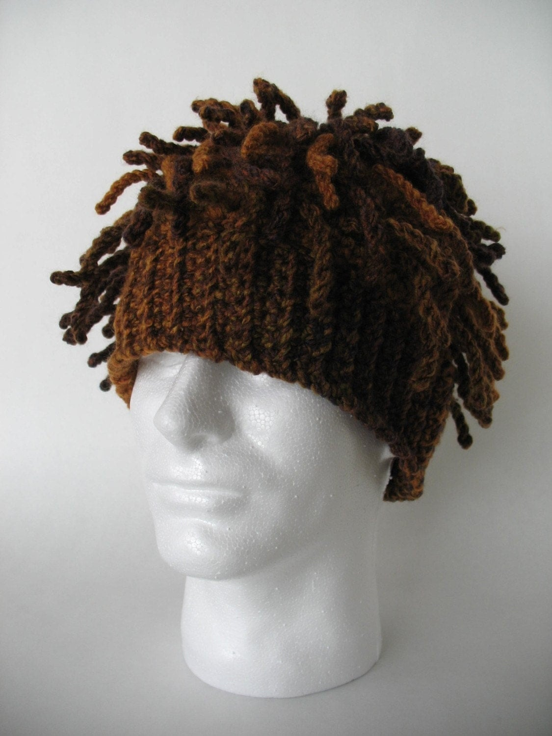 Crochet New Dreads : Funky Dreads Ski Hat Crochet Pattern