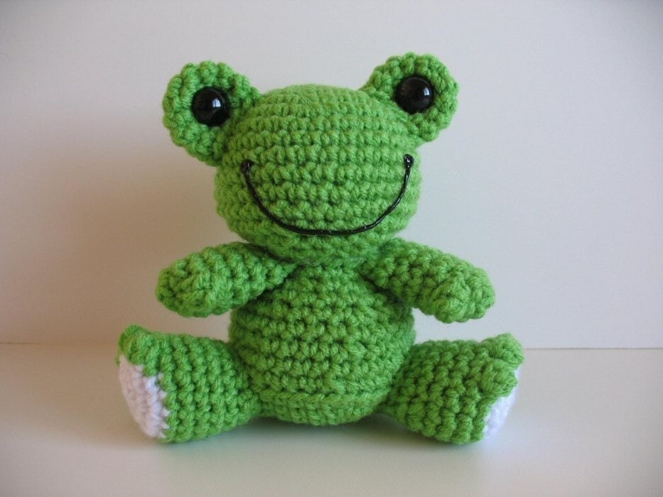 amigurumi frog pdf pattern. Black Bedroom Furniture Sets. Home Design Ideas
