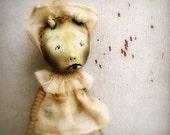 Spooky Baby OOAK Art Doll Halloween Ornament Scary Demon Baby