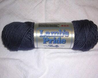 Brown Sheep Lamb's Pride Bulky Yarn Ink Blue