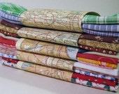 8 pack hanky set cotton handkerchiefs