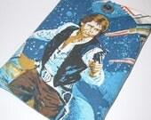 Ereader sleeve case padded bag cover upcycled fabric Star Wars Kindle Nook