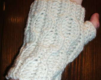Wrist warmer crochet pattern free shipping pdf