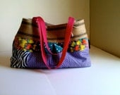 Shoulder Bag in multi