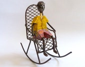 1960s Paper Mache and Metal Sculpture by Manuel Felguerez