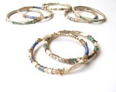 Boho Enamel Bangle Bracelet Set