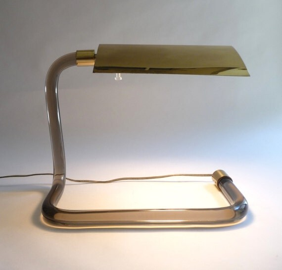 1970s Knoll Crylicord Lamp Peter Hamburger