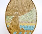 ISLAND - original drawing