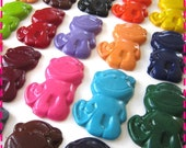 KIDS' MONKEY CRAYONS, Birthday Party Pack of 20, Recycled Eco-Friendly Coloring Toys, Chinese New Year, Year of the Monkey