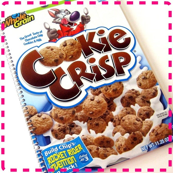 Chocolate Chip Cookie Cereal Original Spiral Bound Recycled