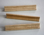 Set of Three Wooden Scrabble Tile Holders / 1