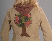 Hooded Jacket Khaki \/ Corduroy