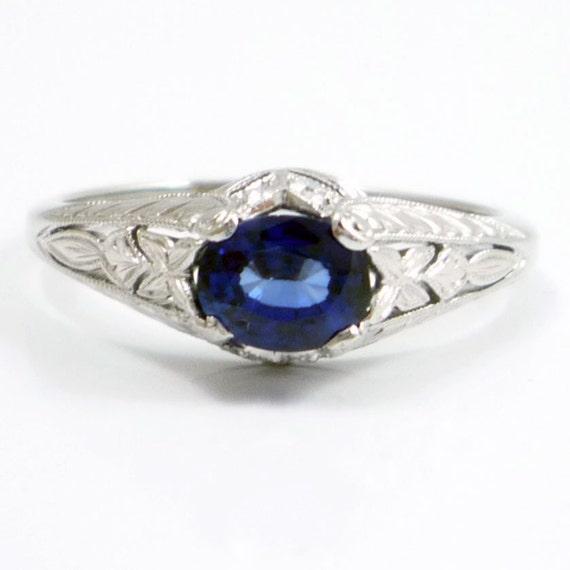 Alternate Art Sapphire Ring