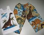 Boys Dinosaur Pants Set