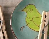 Hungry bird plate