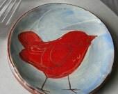 Red Bird plate