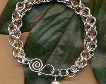 Caged Crystal Bracelet Tutorial / Instructions