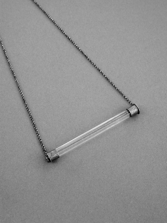 The OriGiNaL cOLoR BaR pENdAnT in ICE color bar pendant glass necklace-the ORIGINAL CoLoR bAr PeNdAnT