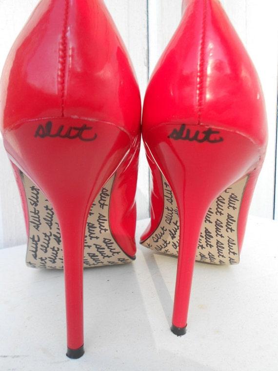 Slut in wedge heels nikki - 2 1