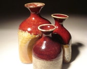 Organic Copper Red Bottle Grouping