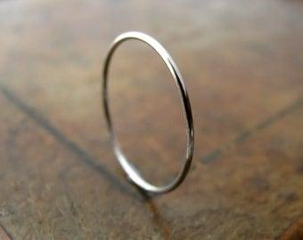 Palladium ring - extra skinny ring