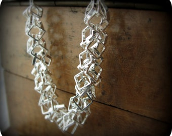 Square links - necklace