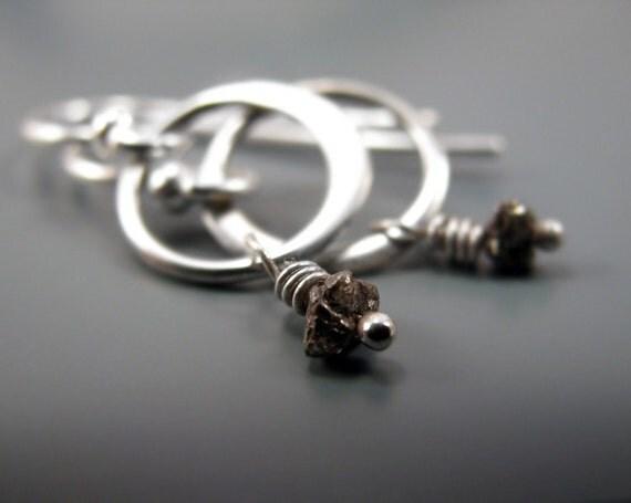 Black diamond - earrings