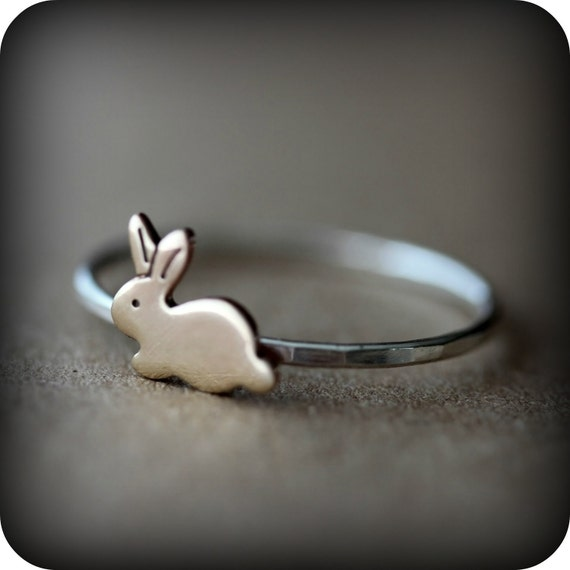 Bunny ring - The ultimate cuteness - Easter gift