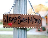Home Sweet Home Door Sign