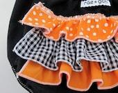 Jack O Lantern - Ruffle diaper covers - Costume - Halloween - Girl
