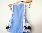 Retro Ruffler - Alice in Wonderland - Jumper - Sunsuite - Romper - Girl - Baby - Todler costume