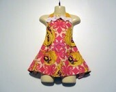 Childs Apron - Funky Flora - Girl -