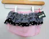 Rocker Pink - Wrap around ruffle diaper covers - Baby - Toddler - Girl