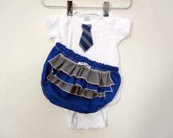 Hogwarts Ravenclaw Student Costume - ruffle (or plain) diaper covers gift set