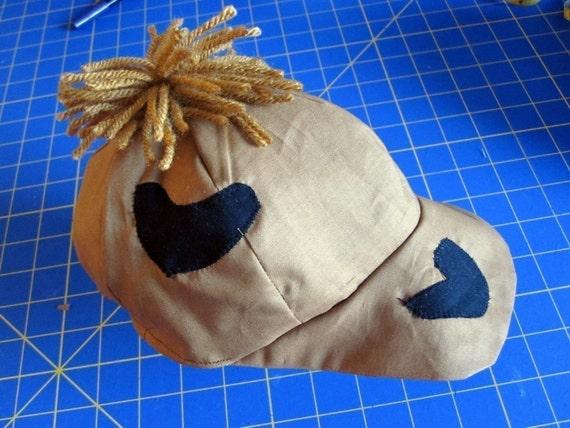 Bam Bam HAT ONLY - costume - halloween - boy