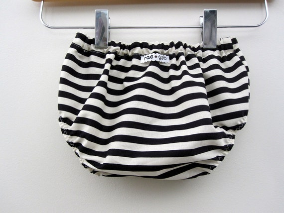 Black and White Stripe Diaper Covers - Boy - Girl - Bottoms - Baby  - Toddler - Stripes