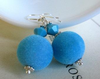 SALE Velvet Ocean Earrings